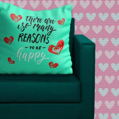 Cojín Enamorado Razones Felicidad