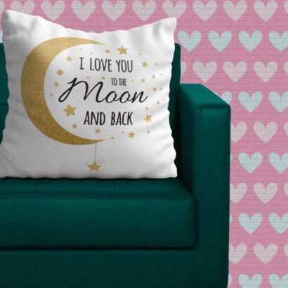 Cojín Frases Te Quiero Hasta La Luna