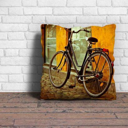 Cojín Vintage Bicicleta Clásica