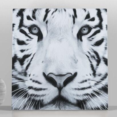 Cuadro en aluminio Tigre
