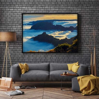 cuadro-montañas-portugal-montaje