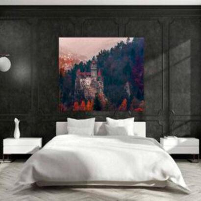 cuadro-paisaje-castillo-antiguo