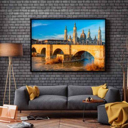 cuadro-puente-zaragoza-montaje