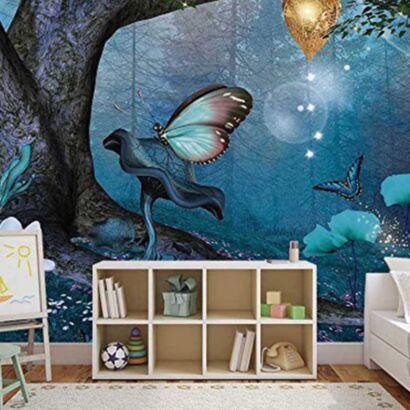 Papel Pintado Fantasía Mariposas