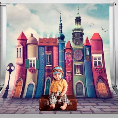 Fondo Fotográfico Arte Casas Libros
