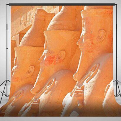 Fondo Fotográfico Arte Estatuas Egipcias