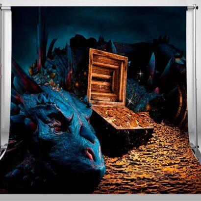 Fondo Fotográfico Fantasía Dragón Smaug
