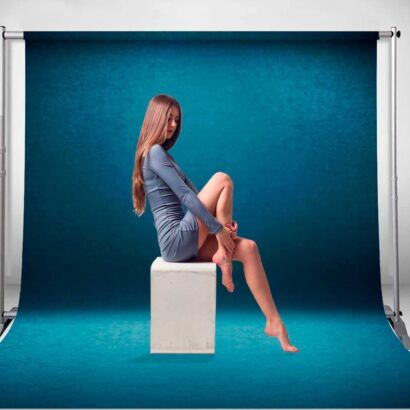 Fondo Fotográfico Textura Azul
