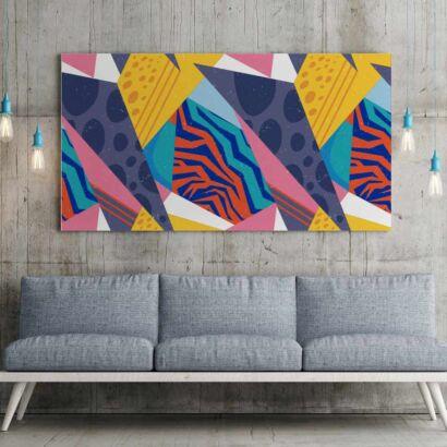 Fotocuadro Arte Abstracto Colores