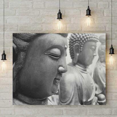 Fotocuadro PVC Zen Estatuas Buda