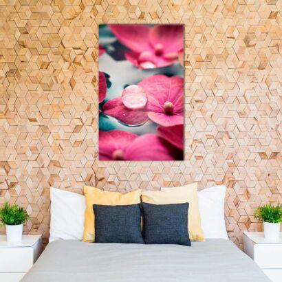 Fotocuadro Zen Flores Rosas