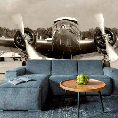 Fotomural Avión Antiguo