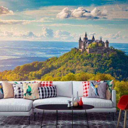 Fotomural Castillo Amanecer en Hohenzollern