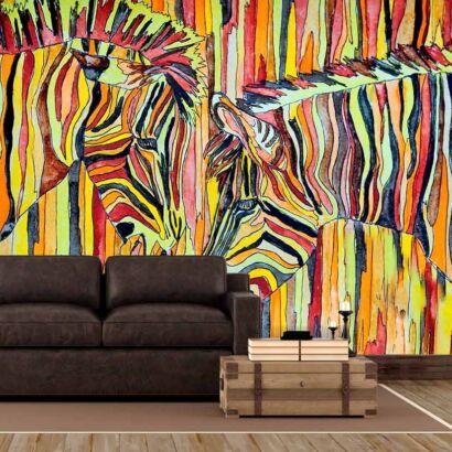 Fotomural Cebras Abstractas