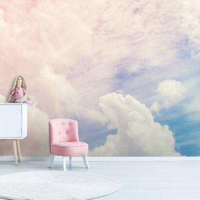 fotomural-cielo-nuboso-dormitorio