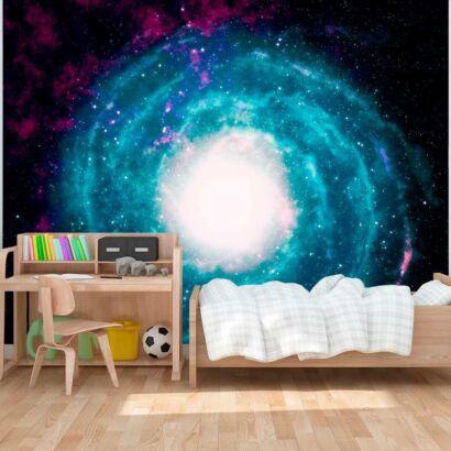 fotomural galaxia azul