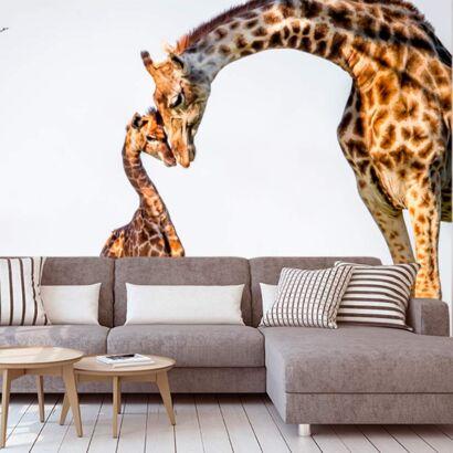 Fotomural Girafa y Cria