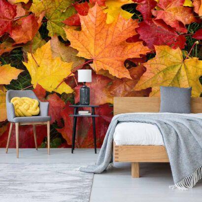 fotomural-hojas-de-otoño-dormitorio