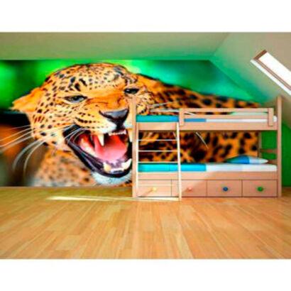 fotomural-leopardo