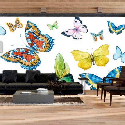 Fotomural Mariposas Multicolores