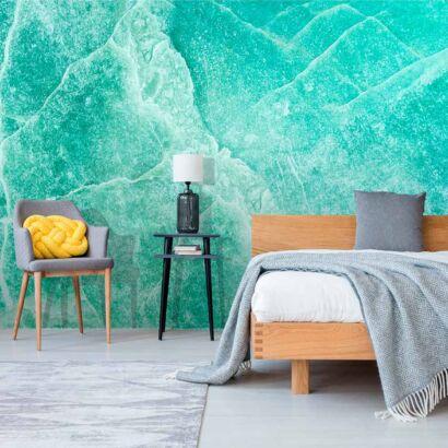 fotomural-marmol-turquesa-imitacion-dormitorio