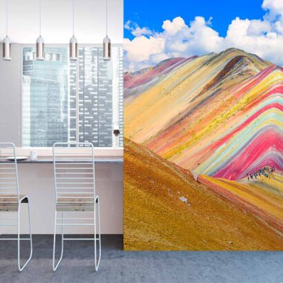 fotomural-montañas-multicolor-fotomural