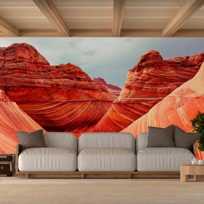 Fotomural Montaña Roja