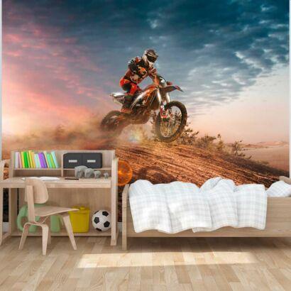Fotomural Motocross Amanecer