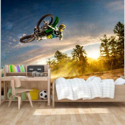 Fotomural Motocross Atardecer