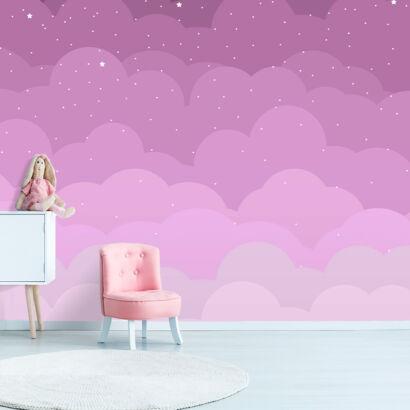 fotomural-nubes-rosas-mano-montaje