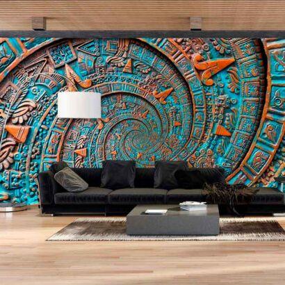 Fotomural Ornamento Azteca