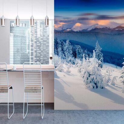 fotomural-paisaje-nevado-fotomural