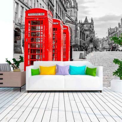 Papel Pintado Cabinas Telefónicas Londres