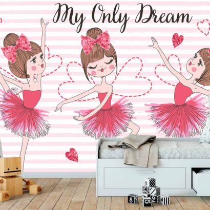 Fotomural Papel Pintado Bailarinas My Only Dream