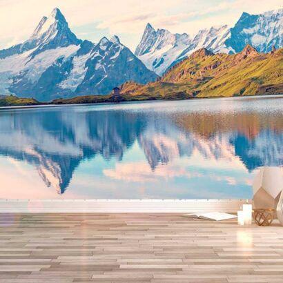 Fotomural Papel Pintado Montañas Alpes Suizos