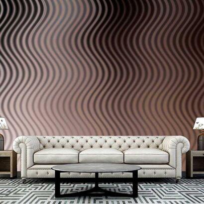 fotomural papel pintado textura ondulaciones