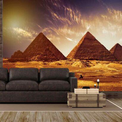 Fotomural Pirámides de Egipto al Amanecer