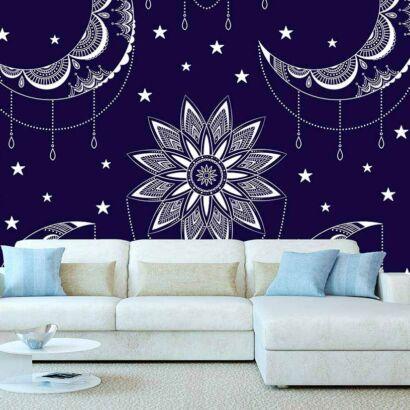 Fotomural Sol y Luna Mandala