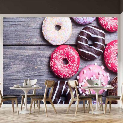 fotomural-tipos-de-donuts-fotomural