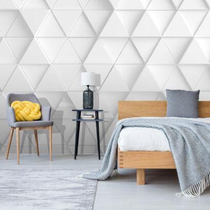 fotomural-triangulos-blancos-dormitorio