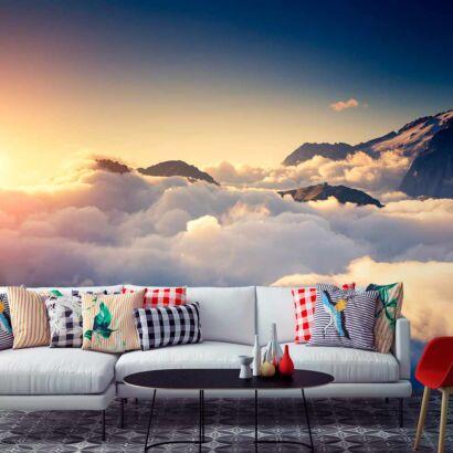 Fotomural Vinilo Amanecer en las Nubes