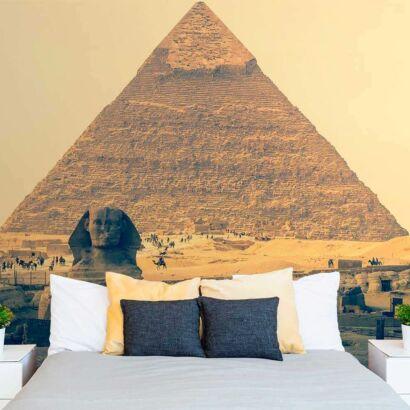 fotomural vinilo piramide guiza