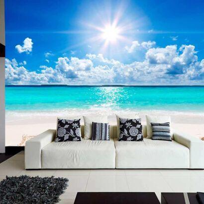 Papel Pintado Playa Relax
