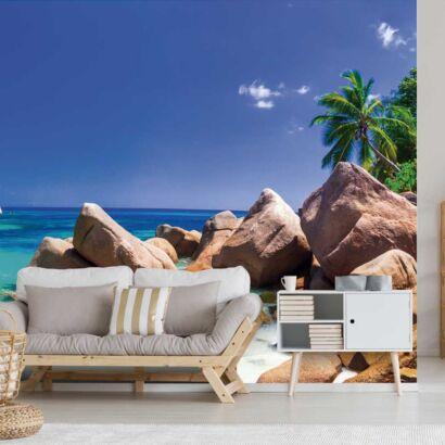 Fotomural Vinilo Playa Tropical