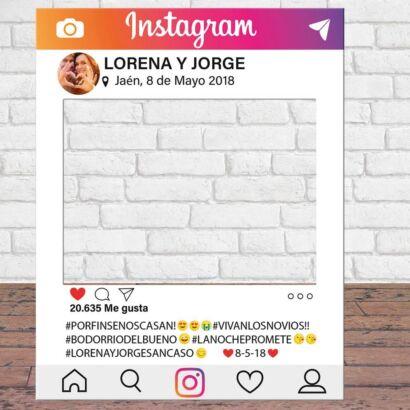 Photocall de instagram