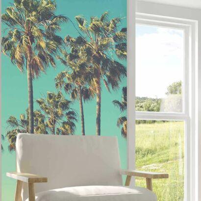 Papel Pintado Palmeras Tropicales
