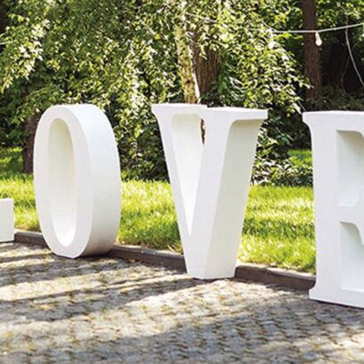 Letras de corcho LOVE