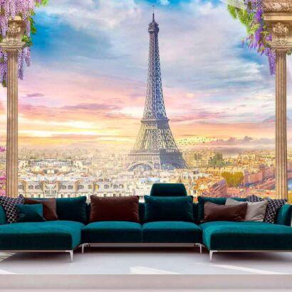 Papel Pintado París Acuarela