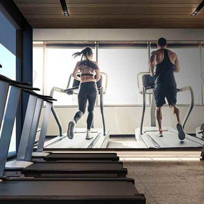 Papel Pintado Pareja Gym