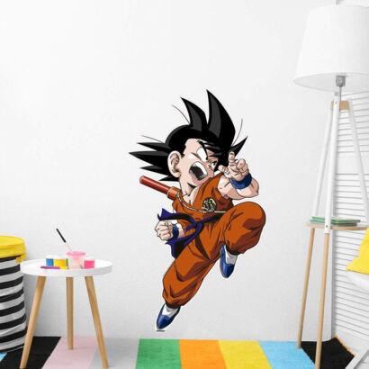 Pegatina pared Dragon Ball Classic Goku Pequeño